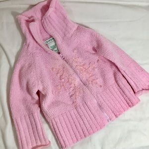 Circo Baby Toddler Sweater Jacket 12 Months Pink